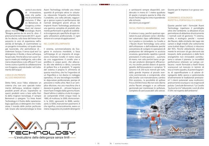 avant-technology-detergenti-professionali-hbm-news-settembre